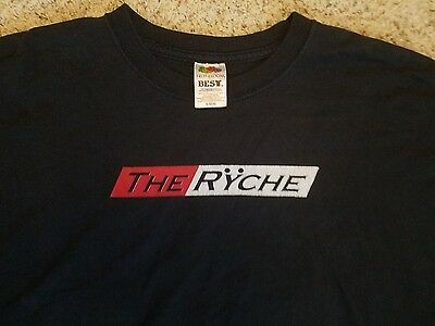 "2000's Queensryche Concert / Promo T Shirt L ""the Ryche"""