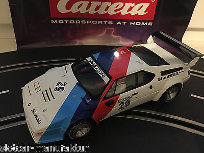 "Carrera Digital 124 23820 BMW M1 Procar "" Regazzoni no. 28 "", 1979 Top"