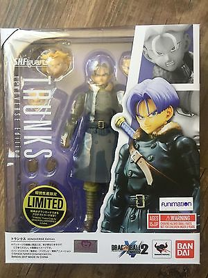"In STOCK S.H. Figuarts Dragonball Z ""Trunks"" Dragon Ball Xenoverse Action Figure"