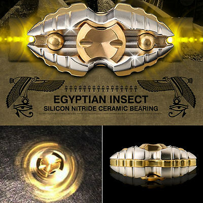 New EDC Fidget Hand Spinner Copper Alloy Egyptian worms Inception Finger Toy