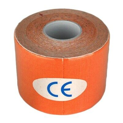 Kinesiology Tape Sports Physio Muscle Strain Injury Support Orange 5m