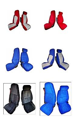 Scania R Series Velour Seat Covers [Truck Parts & Accessories]