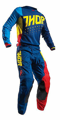 "Thor 2017 Pulse Activ Multi Motocross Kit Small Shirt 28"" Pants Fox Fly BNWT"