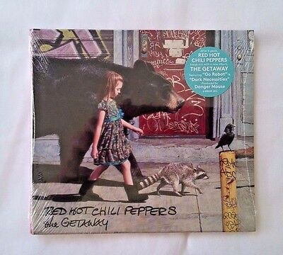 NEW & SEALED~ RED HOT CHILI Peppers the GETAWAY CD, Jun-2016, FREE Shipping