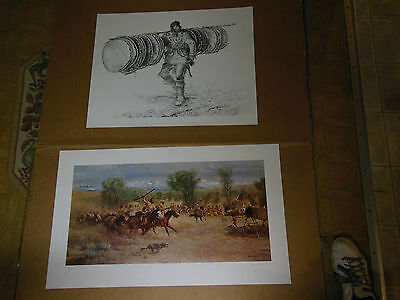 Western Art John Clymer Signed and Numbered Limited Edition PRINTS Never Framed
