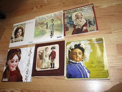 Theriault's doll auction catalog set of SIX (6)