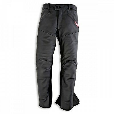 NEW Ducati Company Leather Pants SIZE EU 50 US 14 WOMENS Black