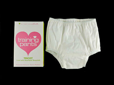 Vintage 1960s Kleinerts Baby Diaper Training Pants Toddler Size 1 NOS