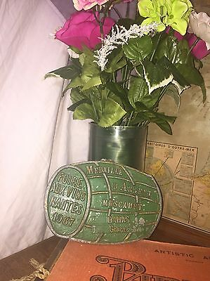 French 2nd Place Plaque in Muscadet Competition//Antique//Vintage