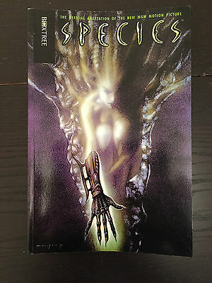 Species - Boxtree Graphic Novel - First Edition