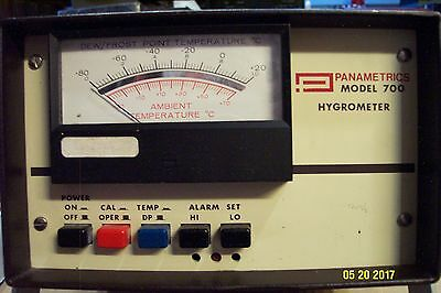 Panametrics Model 700 Hygrometer w/ 4-Pin connector and cable
