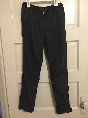 Zara Kids Collection Boys Grey Athletic Lined Pants Size 13/14