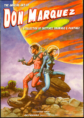 THE AMAZING ART OF DON MARQUEZ, art book by MARQUEZ,