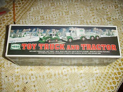 New In Box Hess Toy Truck And Tractor 2013