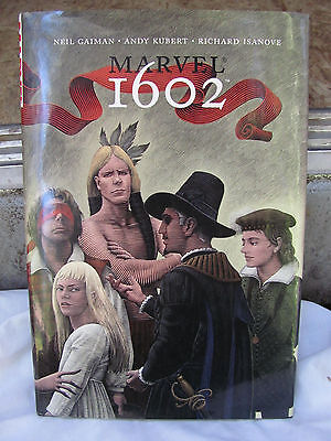 Marvel 1602 Vol 1 Hardcover 2004 1st Direct Edition First Printing green cover