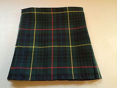 New Hunting Stewart Tartan Baby Kilt 0-3 m to 2-3 y (Waist & Length Sizes Given)