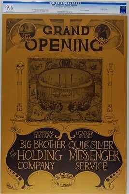 BIG BROTHER & THE HOLDING COMPANY Continental Ballroom 1967 Grand Opening POSTER