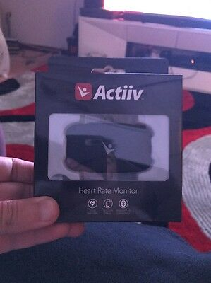 Actiiv Heart Rate Monitor | Bluetooth, Android, iOS | Cheap for Quick Sale