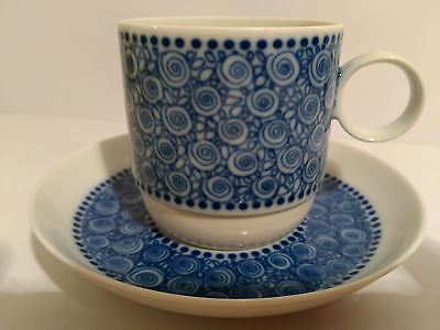 Rosenthal Germany Nordic Tea Cup And Saucer