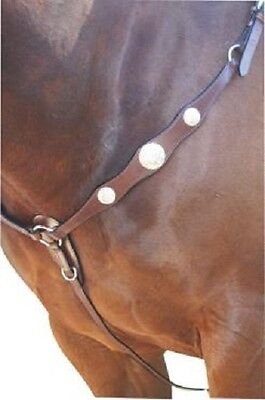 Scalloped Western Breastplate