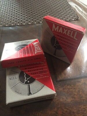 Vintage Maxwell Magnetic Recording Tape Model A50-62 (62mm)