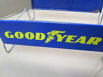 Vintage GoodYear Tires Tire Stand Rack Display Car Auto Gas Station Service nice