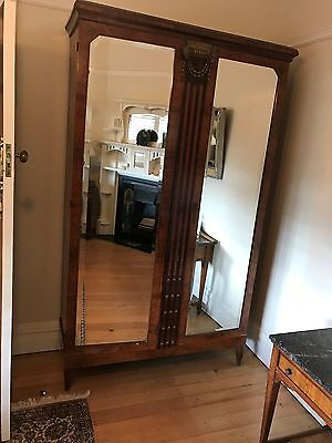 Wardrobe, Timber – Antique, French 1916 - Excellent condition