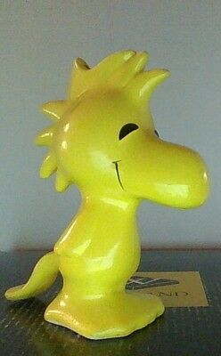 Vintage Peanuts Snoopy Woodstock Bank Different Than Most With Stopper Nice