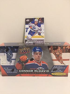 2015-16 Conner Mcdavid Upper Deck Collection 25 Rookie Card Rc Box Set Sealed.