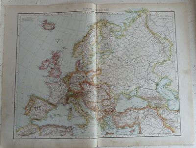 Collection Antique Maps World / European / UK  (from Times Atlas 1895) 100 pages