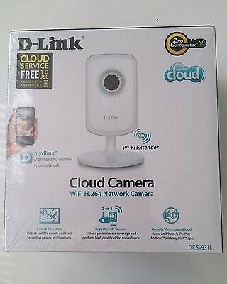 D-Link DCS-931L Wireless N H.264 IP Security Cloud Network Camera