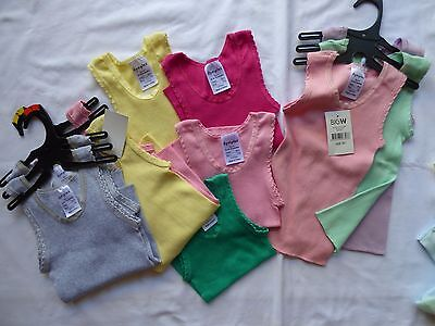 mixed lot, baby singlets & rompers, assorted colours & sizes, craft lot, 28 tops