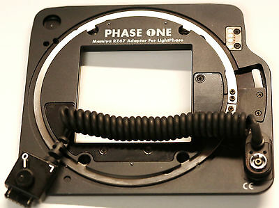 Mamiya RZ Adapter Plate For V-Mount Phase One Backs