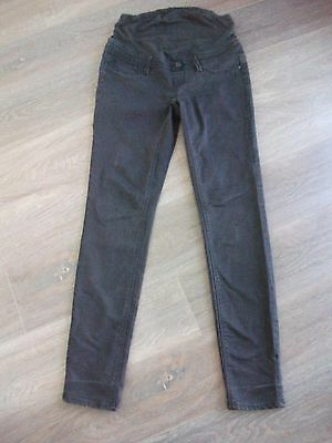 Ladies size 8 Black denim JEANSWEST MATERNITY SKinny jeans *Excellent con*
