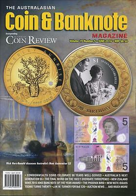 The Australasian Coin and Banknote Magazine, June 2016, Volume 19, Number 5