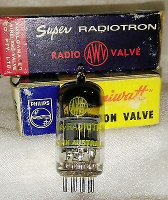NOS 6EA8 (6GH8A) vacuum tube radio TV valve, TESTED