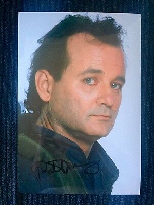 Bill Murray SIGNED 12x8 Ghostbusters Photo (w/Photo)