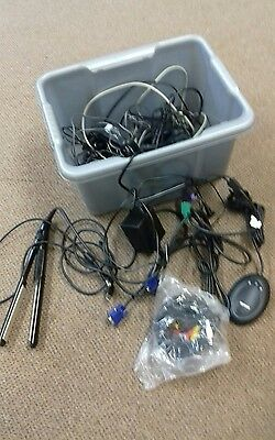 Job lot wires, chargers, cables etc