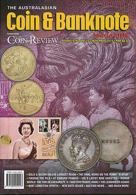 The Australasian Coin and Banknote Magazine, November 2015, Volume 10, Number 10