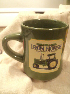 John Deere Iron Horse Coffee Cup New