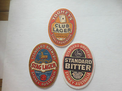 "3 Diff. TOOHEYS ""old style issue"" Special  collectable COASTERS"