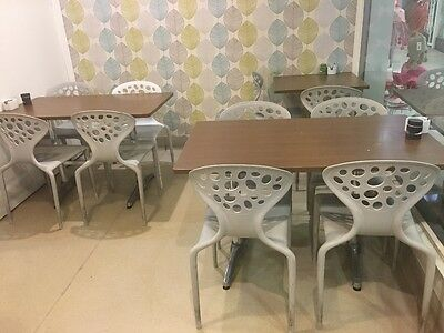 23 cafe chairs