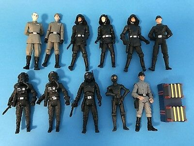 Star Wars action figure lot of 11 Imperial Troops Vintage Collection Saga Hasbro