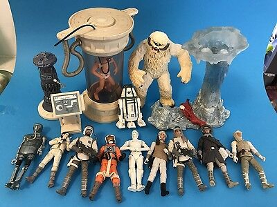 Star Wars action figure lot of 12 Hoth Rebels & Wampa Vintage Collection Hasbro