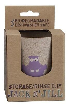 Jack N Jill Biodegradable Storage & Rinse Cup Hippo