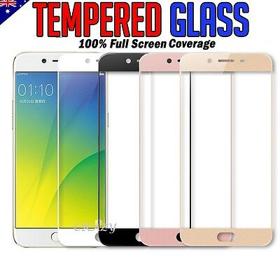 Full Screen Coverage Tempered Glass Screen Protector For Oppo A57 A73 A77 R11S