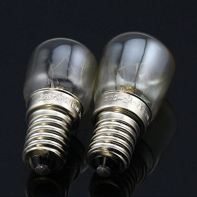 25w Oven Lamps / Cooker Light Bulbs 240v SES E14 300 Degree
