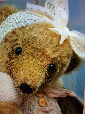 mohair bear shabby chic Artist Bear Please Allow 10 Working Days For Dispatch