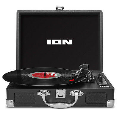 Ion Vinyl Motion Air Bluetooth Turntable in Space Grey
