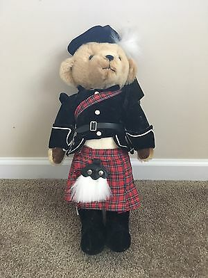 Amazing Harrods by Merrythought England Mohair Teddy Bear Scotsman s